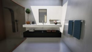 bathroom, modern, design